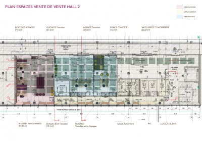 Plan PDV Hall 2
