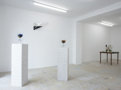 installation view of the group exhibition Substance, Galerie Antoine Levi, Paris - may 2013