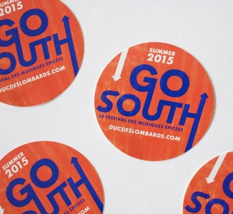 Go-South-stickers